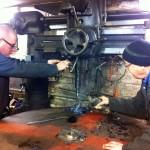 Drilling Plug Weld Holes